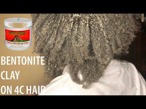 💆🏽♀️ Je teste l'argile sur mes cheveux crépus │ #bentoniteclaywash #argilesurcheveuxcrépus
