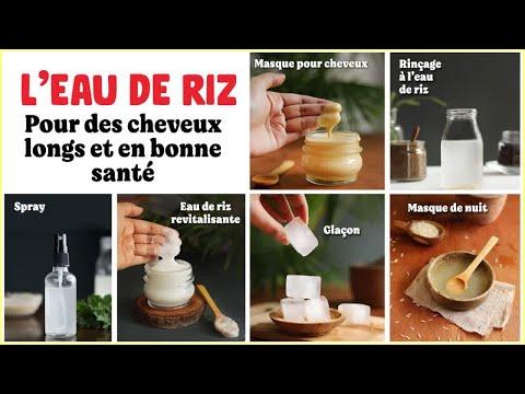 L'eau de riz pour les cheveux : les bienfaits et comment l'utiliser