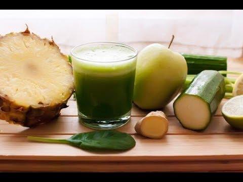 Eliminez les liquides avec l'ananas, le concombre et la prêle des champs