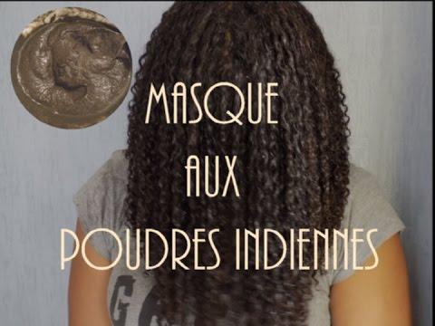 Masque aux poudres indiennes – Fortification et pousse des cheveux