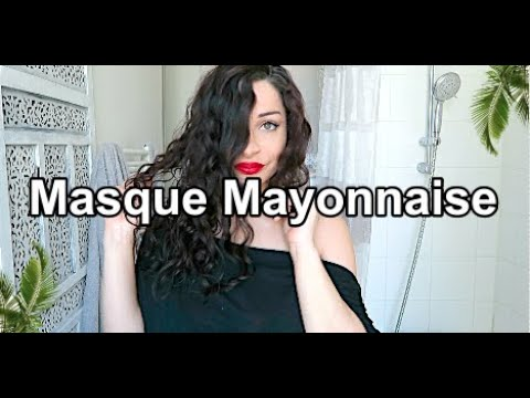 RECETTE masque mayonnaise