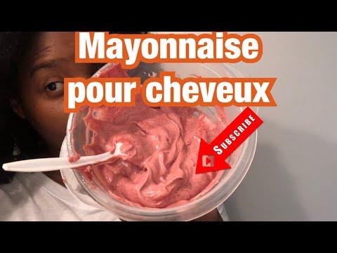 Mayonnaise pour cheveux