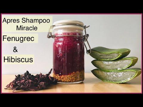 Utilise le FENUGREC et L'HIBISCUS comme Apres-Shampoo pour faire pousser tes cheveux 3 fois plus