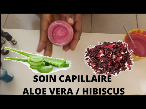 SOIN CAPILLAIRE A L'HIBISCUS 🇨🇬