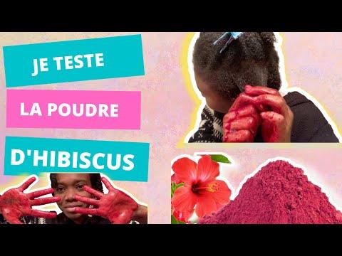 LA POUDRE D'HIBISCUS/BISSAP POUR TES CHEVEUX NATURELS CRÉPUS