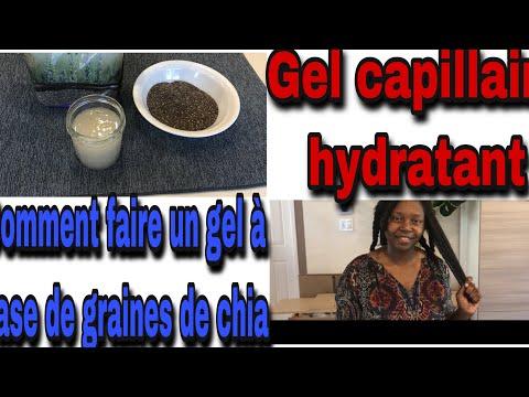 DIY Gel capillaire hydratant à base de graines de chia