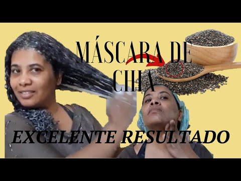 MASCARA DE CHIA P/ CABELO E PELE