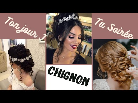 Idées Chignon Mariage /Soirée Pour Tout Type de cheveux  💋 أجمل تسريحات لكل المناسبات