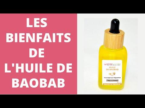 Les bienfaits de l'huile de baobab.