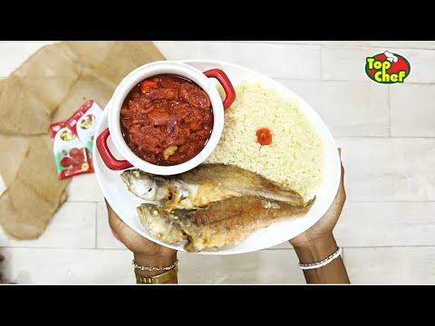 @IvorianFood | Recette Attiéké Poisson et sa pâte pimentée !