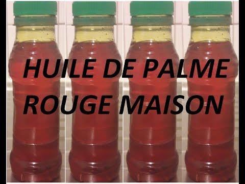 HUILE DE PALME ROUGE MAISON : COMMENT FAIRE ?