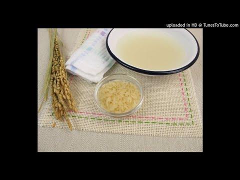 l'eau de riz pour les cheveux